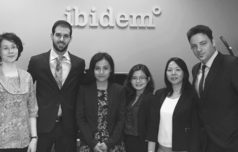 The Indonesian firm Pacific Patent Multiglobal visits Ibidem's office
